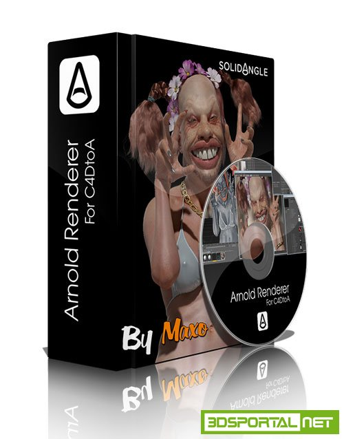 Solid Angle Cinema4D To Arnold v2.2.2.3 For Cinema4D R17 to R19 Win/Mac