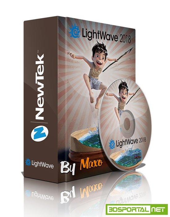 NewTek LightWave 3D 2018.0.4 Build 3067 Win x64