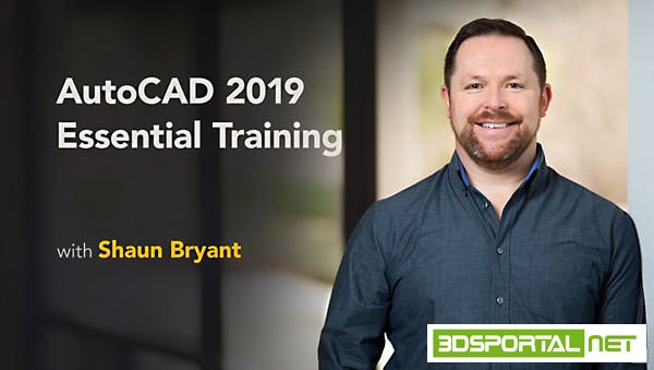 AutoCAD 2019 Essential Training