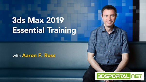 3ds Max 2019 Essential Training