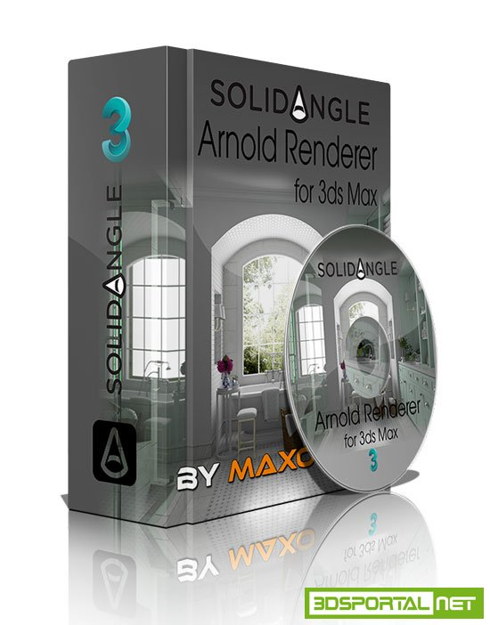 Solid Angle 3ds Max To Arnold v2.0.937 For 3ds Max 2018 to 2019 Win