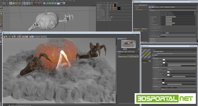 SolidAngle Cinema 4D to Arnold v2.3.1 R17 - R19 Win/Mac