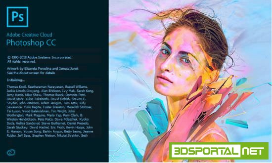 Adobe Photoshop CC 2018 19.1.6.61161 Win x64