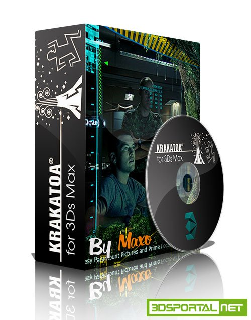 ThinkBox Krakatoa MX V.2.7.0 For 3Ds MAX 2013-2018 Win x64