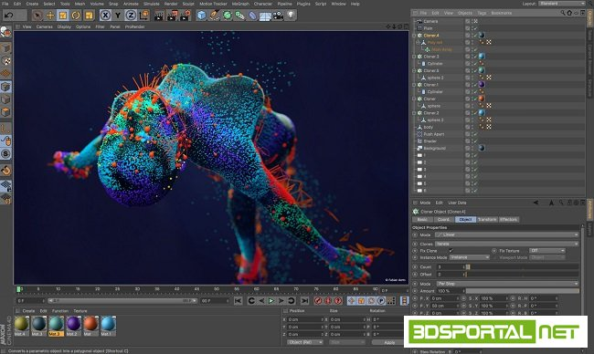 Maxon Cinema 4D R20.026 Multil ...